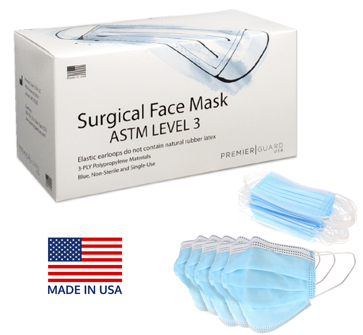 Surgical Face Mask – ASTM Level 3
